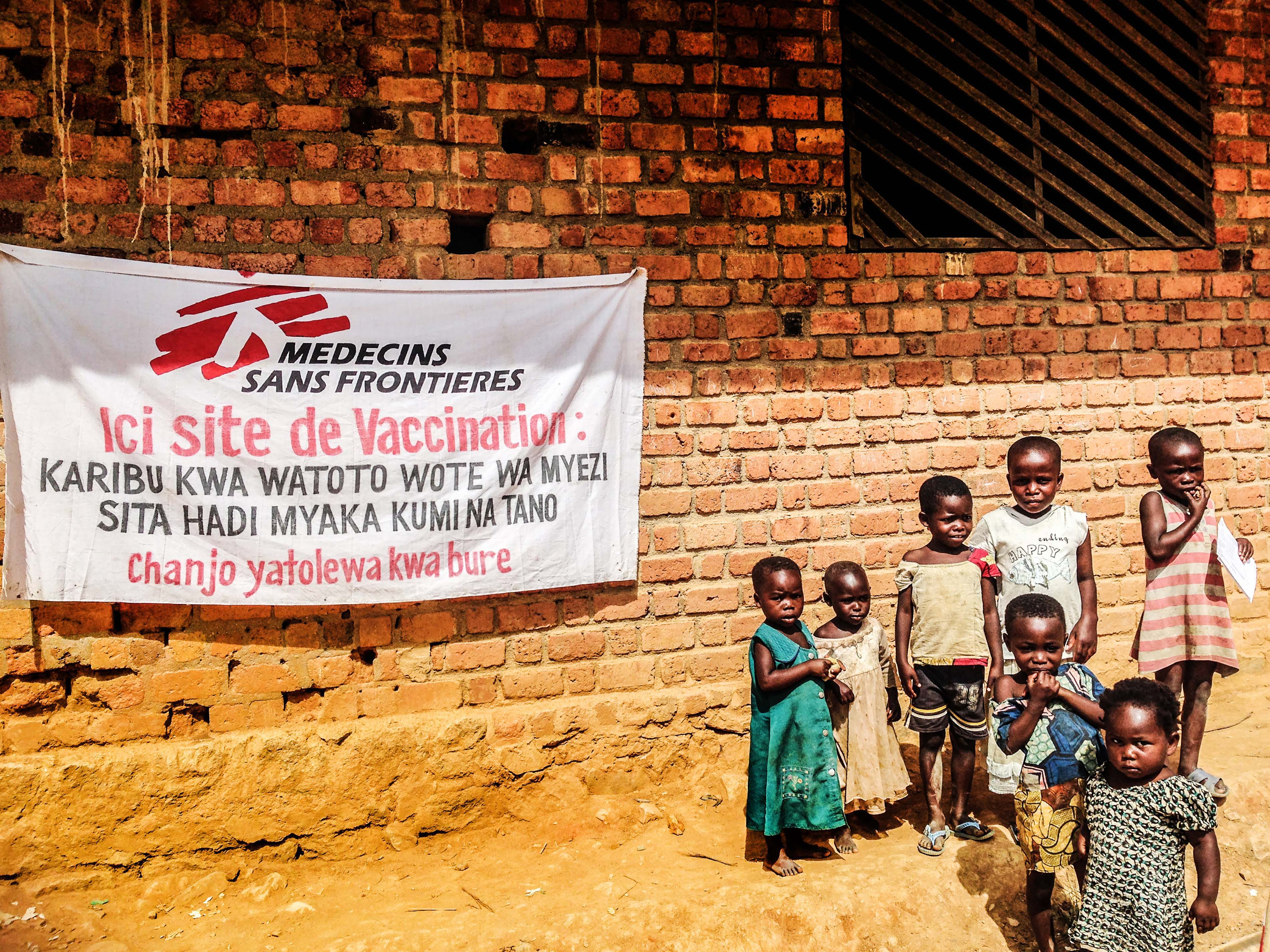 Democratic Republic of Congo, 2015. Bunyakiri vaccination campaign.