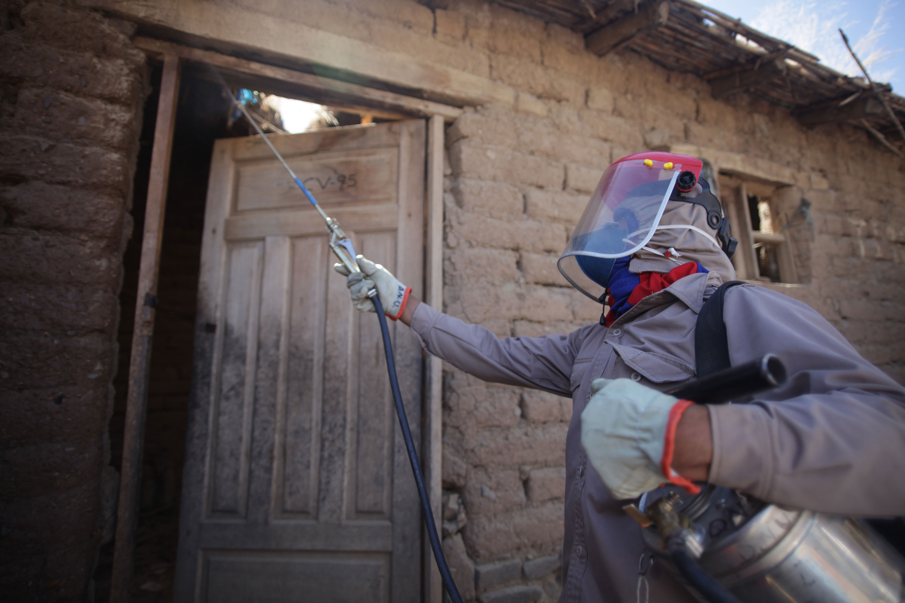 Vector control is an important aspect of MSF´s project in Narciso Campero.