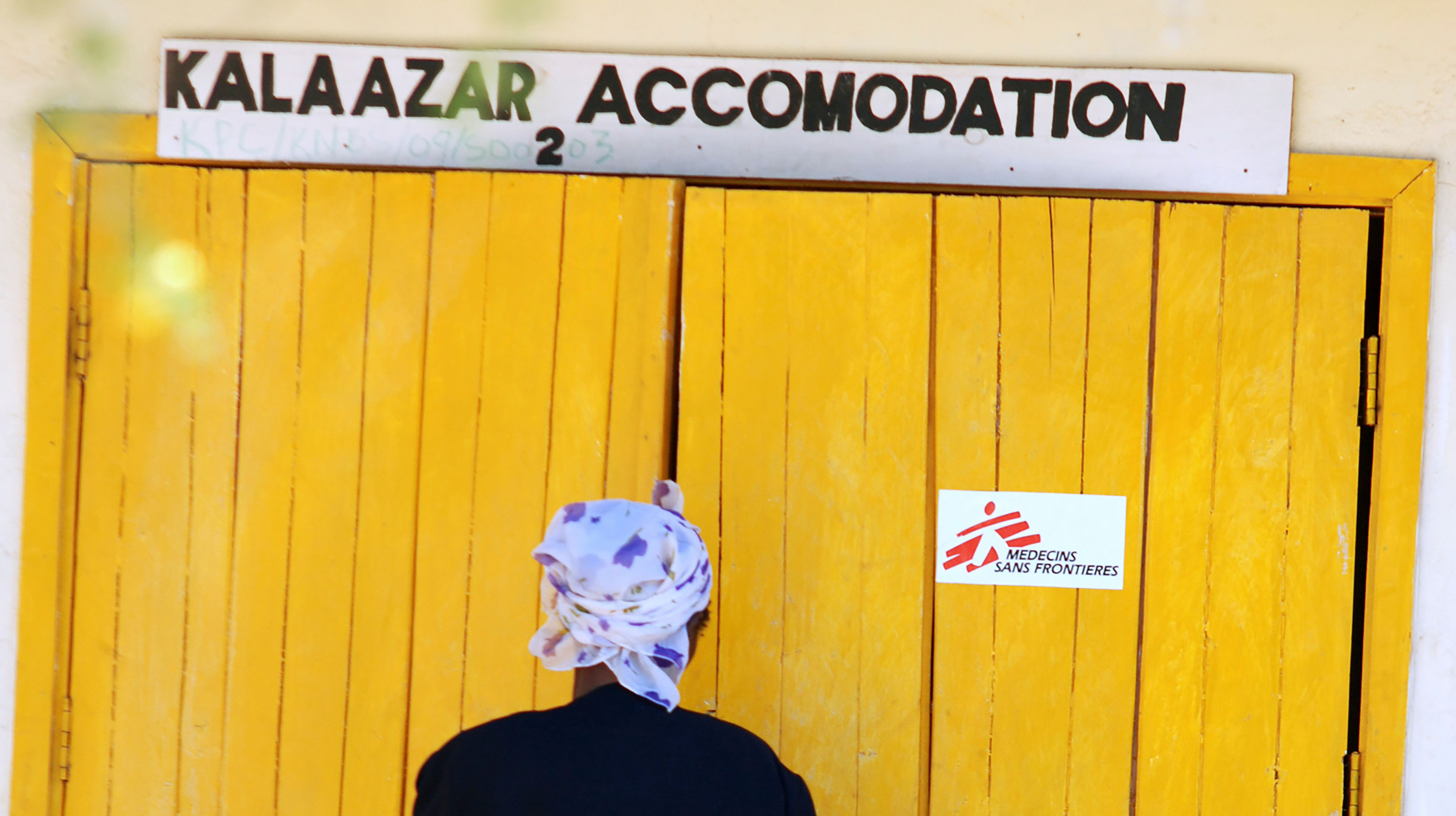 In Kacheliba, MSF offers a free treatment for patients affected by visceral leishmaniasis, commonly known as Kala-Azar. This disease, which can be fatal if not treated, is transmitted by sand flies