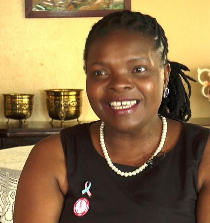 Tobeka Daki was diagnosed with HER2 positive breast cancer in 2013. She needed a cancer drug made by Roche, trastuzumab. But it was too expensive and patents on the drug blocked the production of any affordable alternatives in South Africa where she lived.