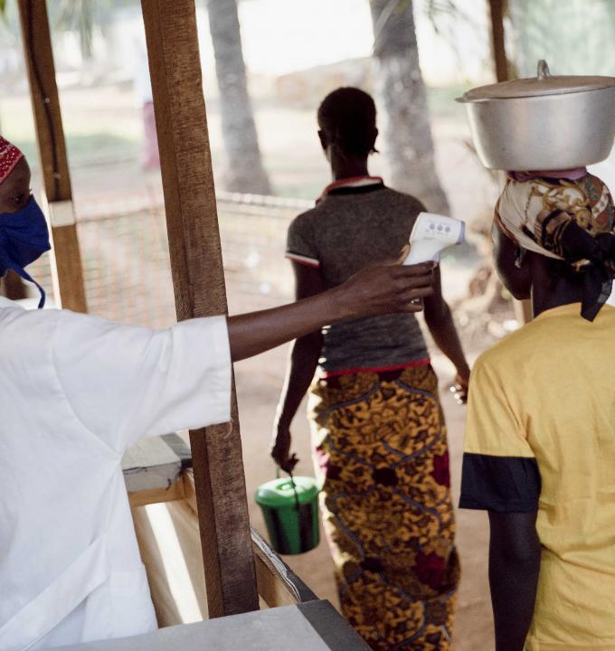 Bambari hospital, Central African Republic