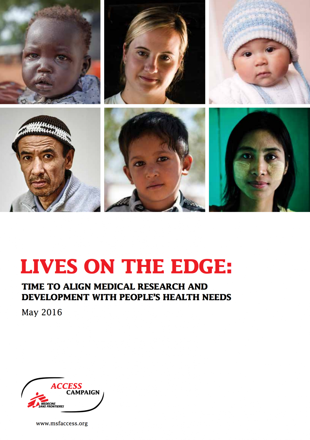 Lives on The Edge report - 2016
