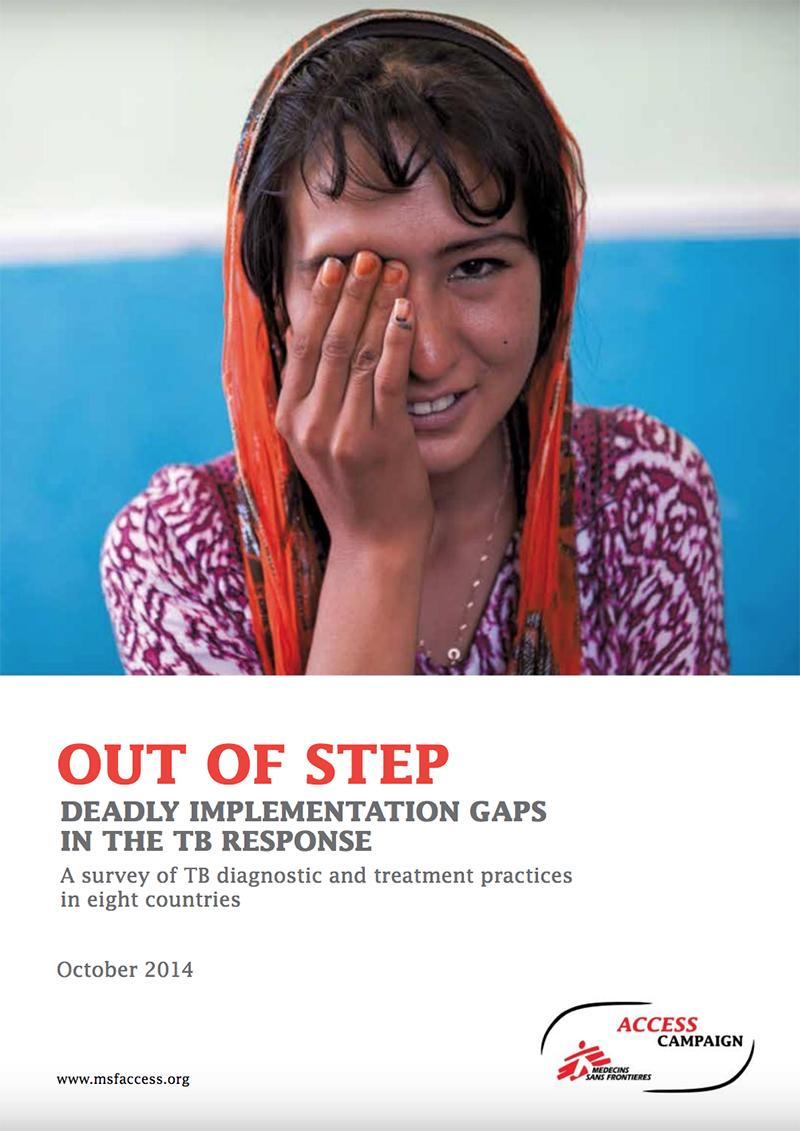 Report cover: Out of step