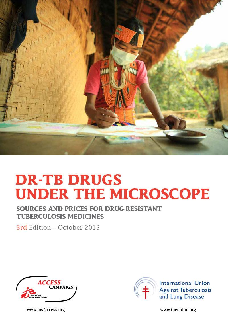 ReportCover-DRTBDrugsUnderTheMicroscope-2013-3rdEditionn