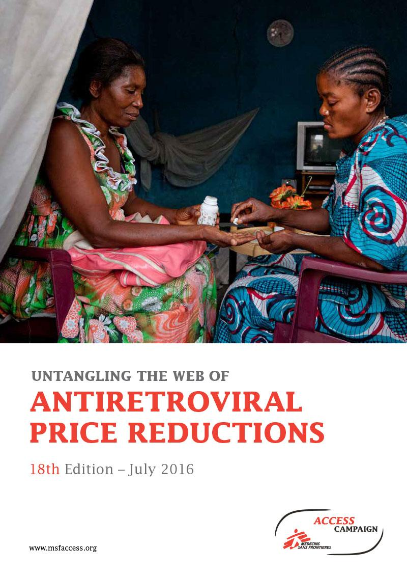 ReportCover - Untangling the Web of Antiretroviral Price Reductions - 2016