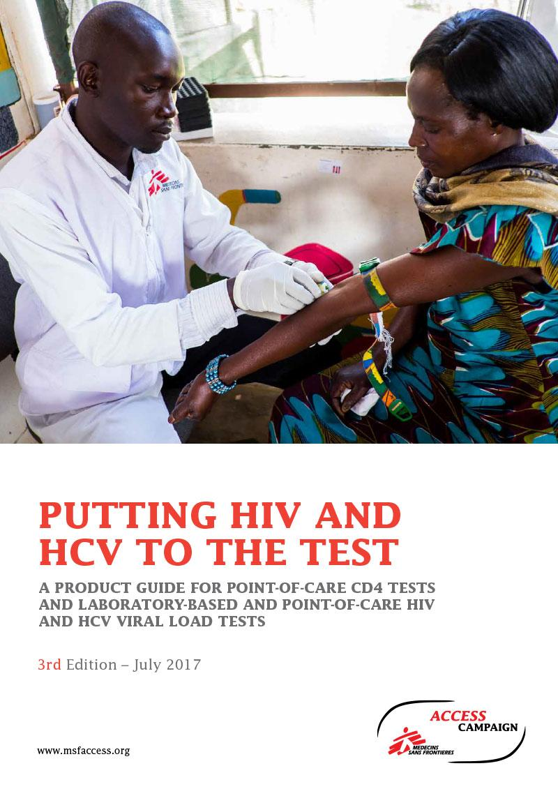Report Cover- Putting HIV and HCV to the test-2017-3rdedition