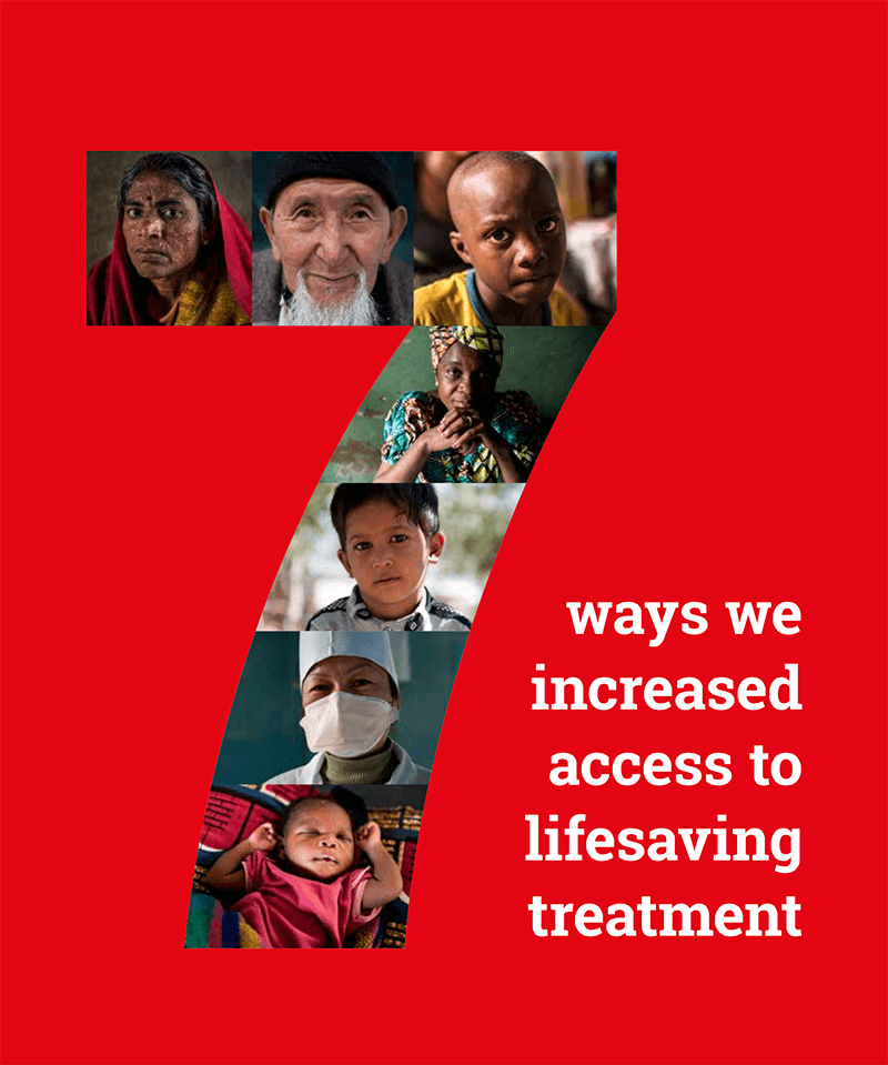 MSF Access Missions Lifesaving Treatment