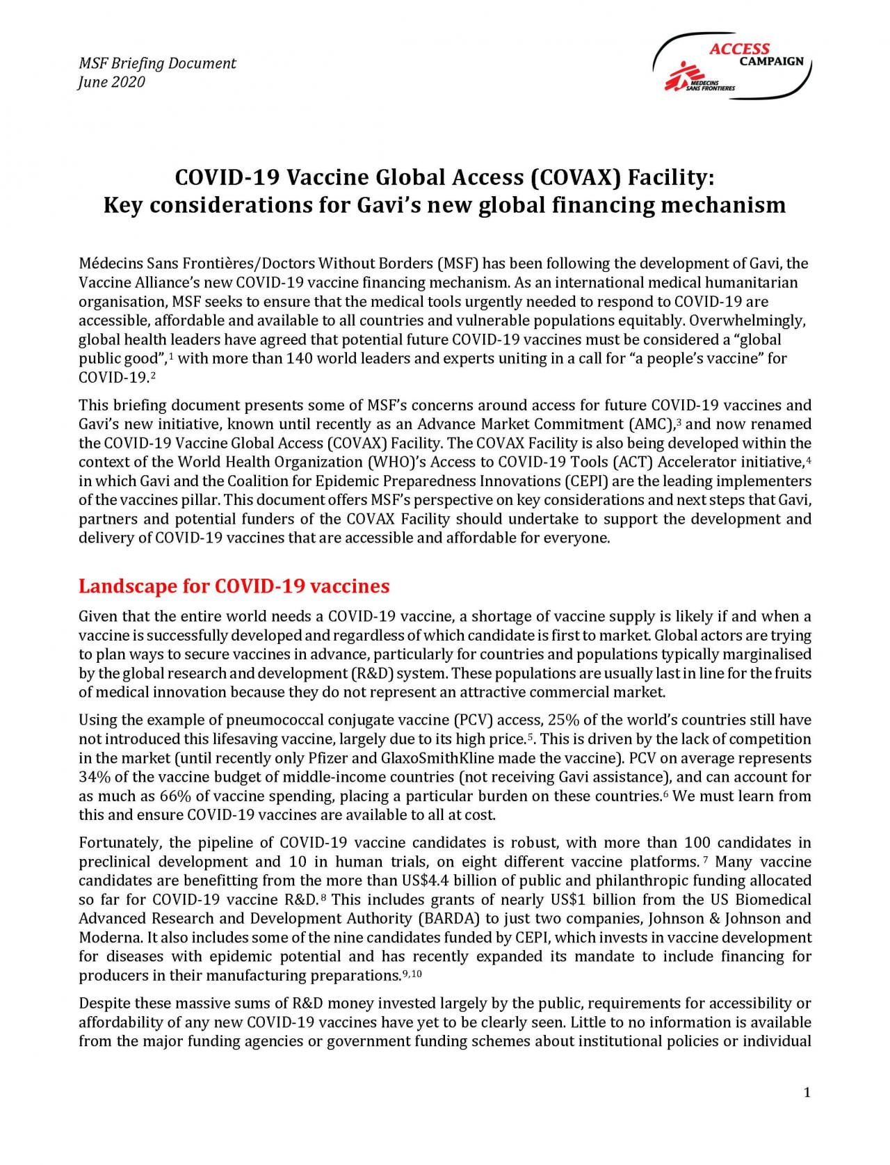 msf-ac_covid-19_gavi-covaxfacility_briefing-document_page_1