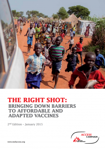 Cover of the Right Shot report - 2nd edition