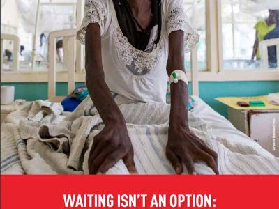 Report Cover: Waiting is not an option