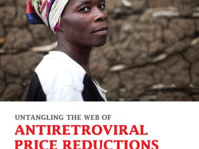 ReportCover: Untangling the web of antiretroviral price reductions - 2014