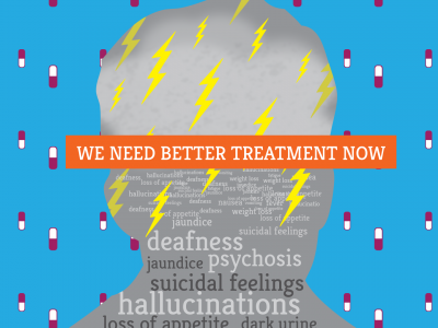 Side effects of drug-resistant TB drugs. We need better dreatment now