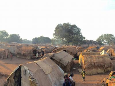 Batangafo IDP camp, Central African Republic. 2015