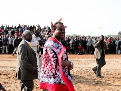The new DR-TB was officially opened on September 20th by the King of Swaziland, Mswati III.