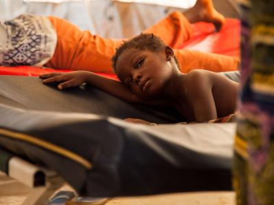A measles epidemic is spreading in the north of DRC, affecting ten of thousands of children.